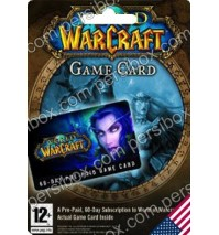WoW - 60 Days Game Card - US