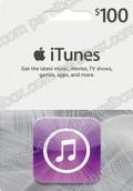 iTunes 100$