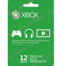 Xbox Live Gold 12 Months - Global