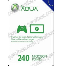 Xbox Live 240 Points Europe