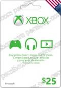 Microsoft Gift Card $25