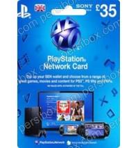 PlayStation Network - 35 Pound - UK