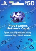 Playstation Netwrok Card $50 UAE