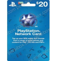 Playstation Network Card $20 UAE