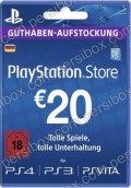 Playstation Network Card 20€ Germany