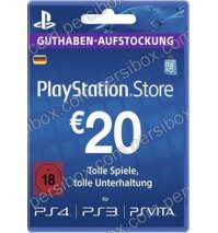 Play Station Network Card 20€ Germany