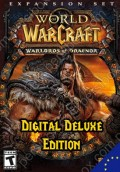 WoW Europe-اروپا Warlords of Draenor Digital Deluxe + Level 90 Free Boost