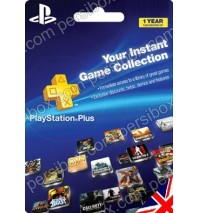 PlayStation Network Plus 12 Months UK