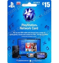 PlayStation Network - 15 Pound - UK