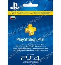 PlayStation Network Plus 3 Months UAE