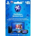 PlayStation Network - 45 Pound - UK