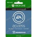 Xbox Live EA Access 12 Months