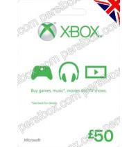 Microsoft Gift Card UK 50£