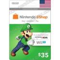 Nintendo Eshop 35$ Card - US