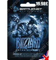 Battle net Balance Card 15 GBP - UK