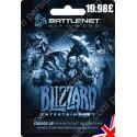 Battle net Balance Card 19.98 GBP - UK