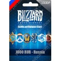 Battle net Balance Card 1000 RUR - RU