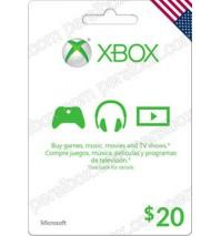 گیفت کارت 20 دلاری مایکروسافت/ایکسباکس