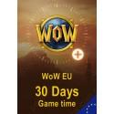 گیم تایم 30 روزه WoW - نسخه اروپا