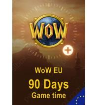 گیم تایم 90 روزه WoW - نسخه اروپا