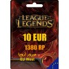 League of Legends Gift Card 1380 RP EU West