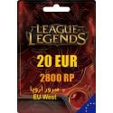 League of Legends 2800 RP EUW