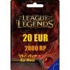 League of Legends Gift Card 2800 RP EU WEST