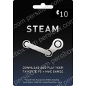 Steam Wallet Card 10 EUR - گلوبال