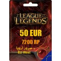League of Legends 7200 RP EUW