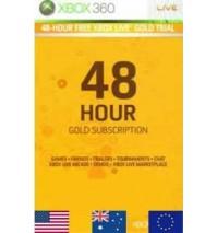 کارت گلد ایکس باکس 48 ساعته - Xbox Live Gold