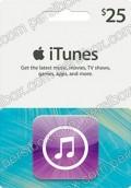 iTunes 25$