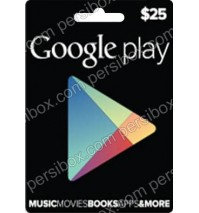 Google Play Card 25$