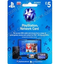 PlayStation Network - 5 Pound - UK