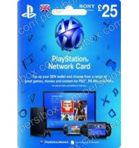 PlayStation Network - 25 Pound - UK