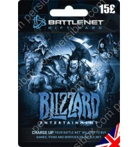 Battle net Balance Card 15 GBP - UK