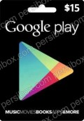 Google Play Card 15$