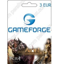 Gameforge Coupon 3 EUR