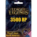 League Of Legends 25$ North America