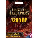 League Of Legends 50$ North America