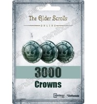 The Elder Scrolls Online 3000 Crowns Pack