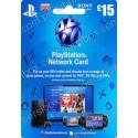 PlayStation Network - 15 Pound - UK