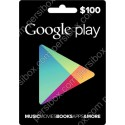 Google Play Card 100$