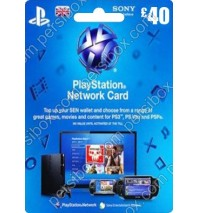 PlayStation Network - 40 Pound - UK