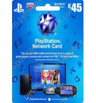 PlayStation Network - 45 Pound - UK