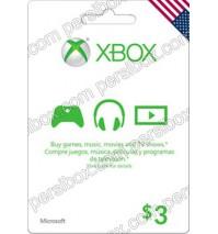 Microsoft Gift Card $3