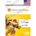 Nintendo Eshop 10$ Card - US