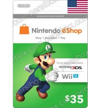 Nintendo Eshop 35$ Card - US
